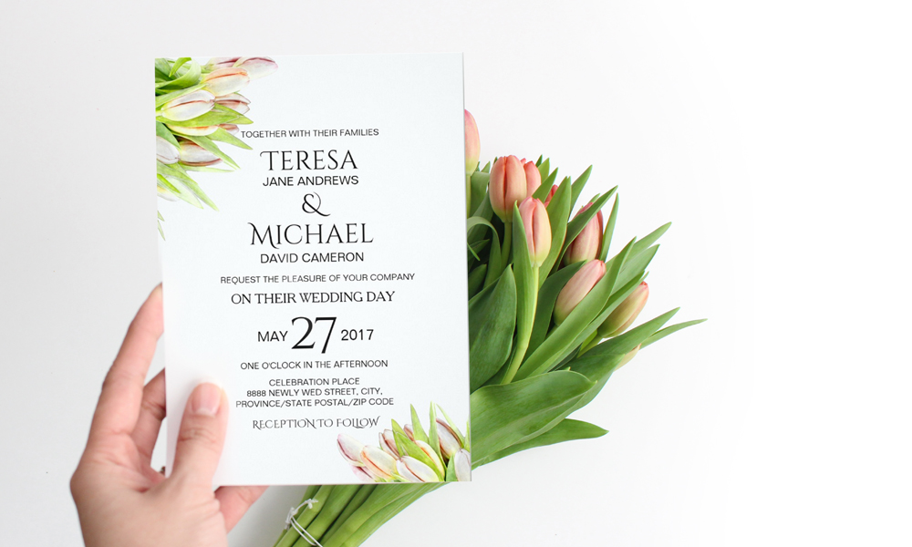 Wedding invitation trend