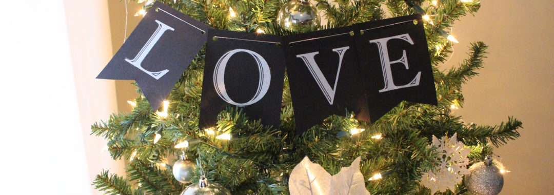 Feel good stories and ideas creativity and inspiration diy christmas word banners solutioingenieria Images